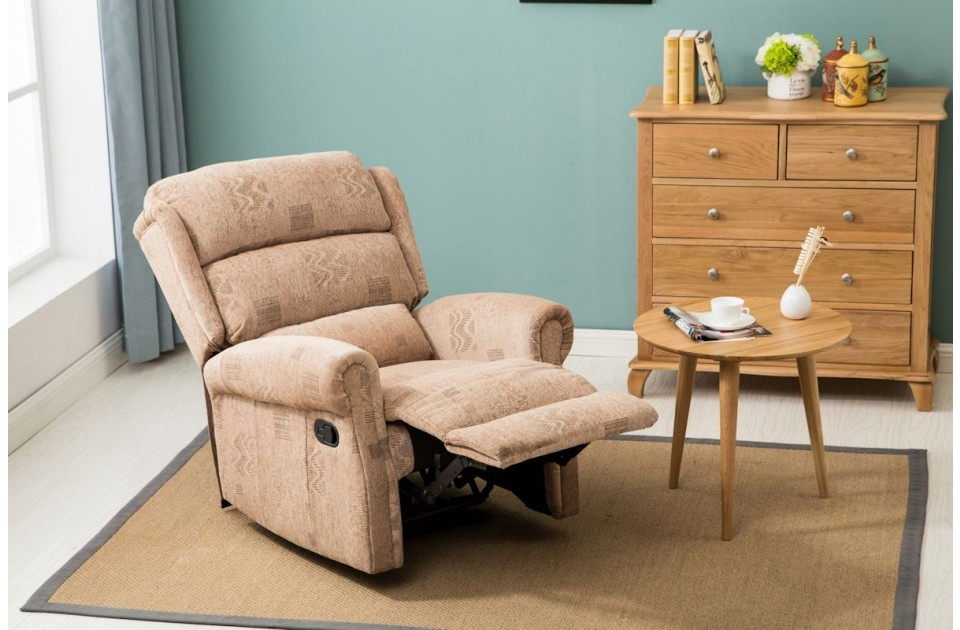 Manhattan Fabric Recliner Chair